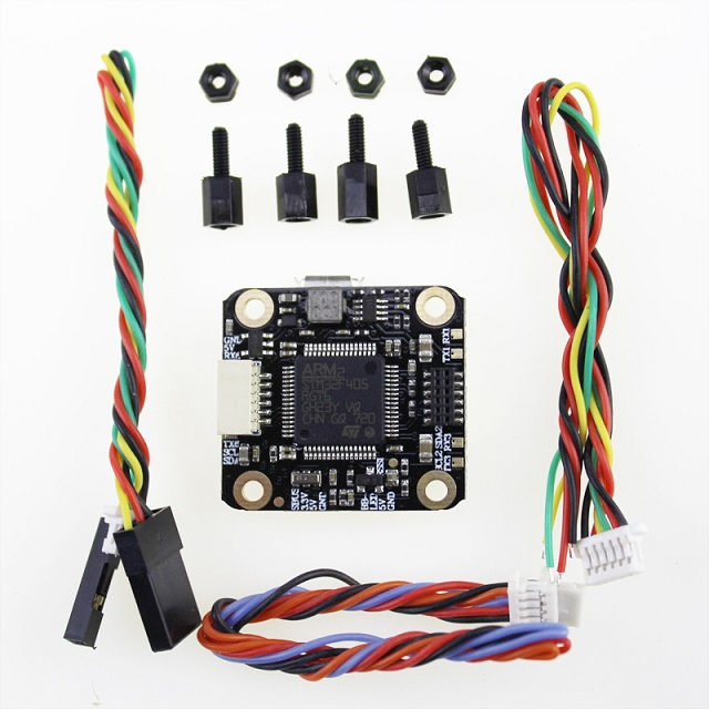 HAKRC Upgraded Mini F4 Flight Control Integrated OSD ESC Built-in 5V