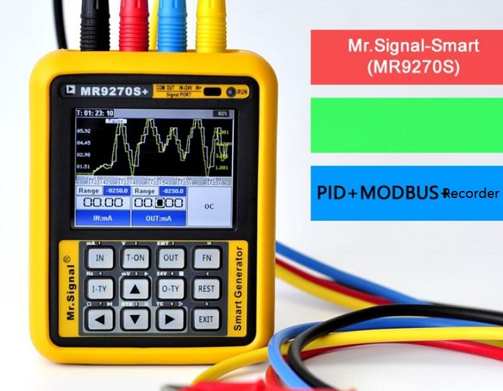 MR9270S 4-20mA HART Signal Generator Calibration Current Voltage Thermocouple