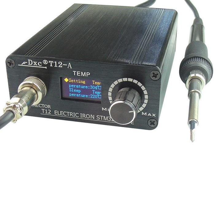100V-220V BK950D Digital Portable Soldering Irons Station /& T12 Heating Core