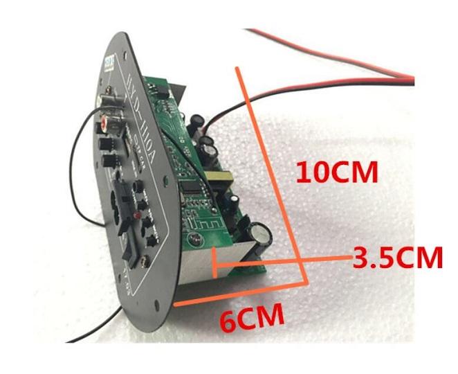 Car Bluetooth Amplifier Subwoofer Accessories Digital MNono