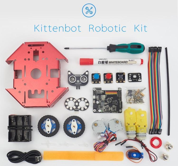 Arduino Programmable Robot Kit DIY STEM Toy Scratch 3 0 & Python