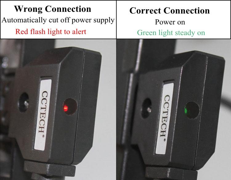 D-TAP a NP-F550 de la energía de la Batería Cable Adaptador Para Monitor utilizando 550//970 OD
