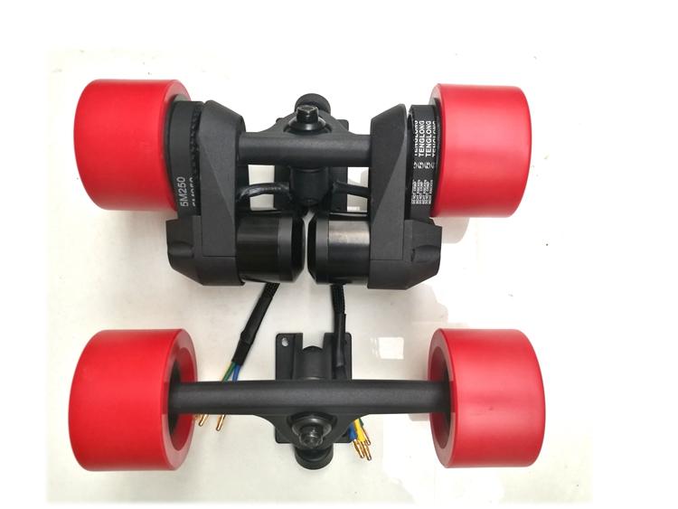 Electric Longboard Skateboard Trucks with Wheels 83mm ...