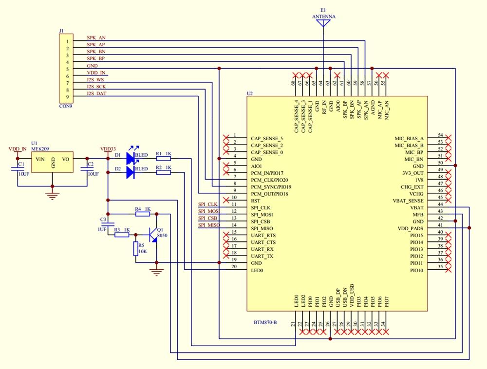 Bluetooth 5 0 Module Csr8675 Module Bluetooth Audio Module I2s   Spdif Output