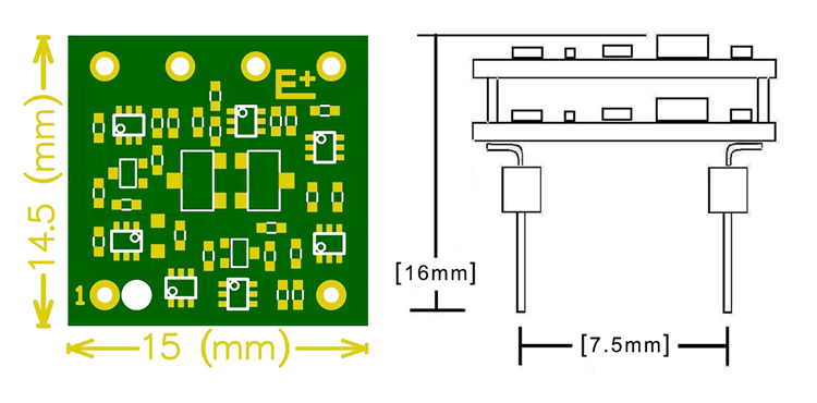 1 pcs LKS Class A JFET Discrete Opamp Dual opamp for ES9018 ES9028 AD1955 DAC