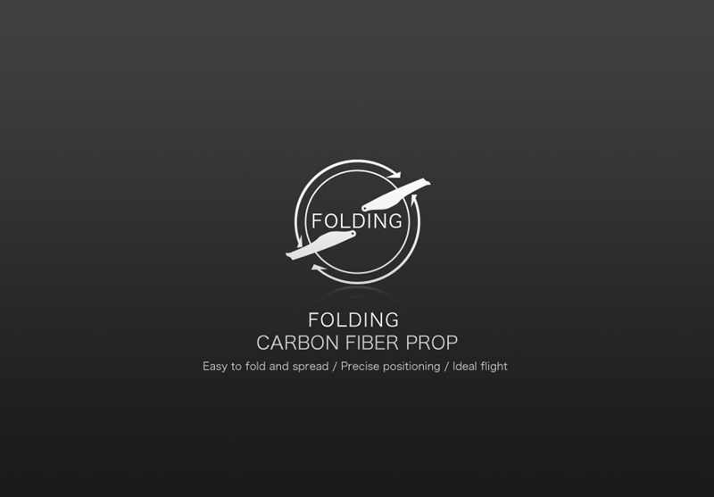 T-motor Carbon Fiber Folding Propeller FA16.2x5.3 2pcs//pairs For RC Drones Rotor