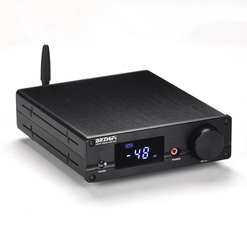 Bluetooth 5 0 Dac Es9038 Headphone Amplifier Usb Dac Dsd512 Support For Ldac Nxc07 Black Free Shipping Thanksbuyer