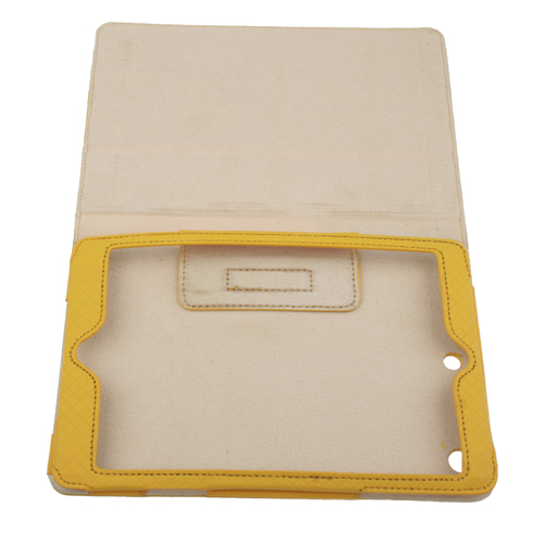 Fashion Protective Leather Case Cover with Folding Cover Stand for iPad Mini   6 Color