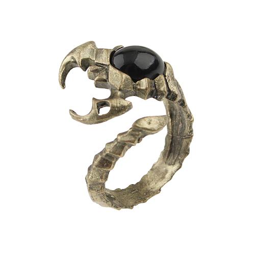 Scorpion Shaped Adjustable Metal Ring