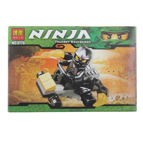 BELA Thunder Swordsman Assembled Toy
