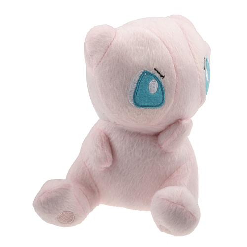 Cute Pokemon Sit Sideways Mew Stuffed Toy Plush Doll