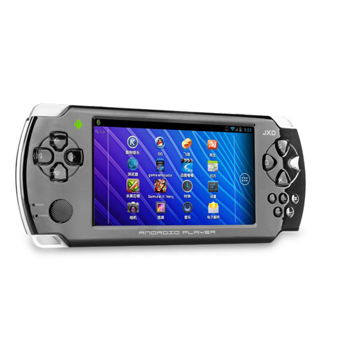 JXD S602 Game Tablet PC 4.3 Inch HDMI 4G Android 4.0 HDMI Camera Black