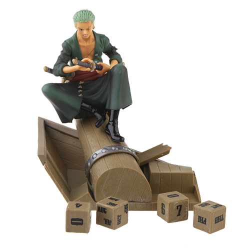 One Piece Roronoa Zoro New World 15cm PVC Figure Eternal Calendar