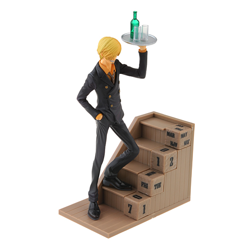 Brand New One Piece Sanji 17cm Figure  NEW WORLD Eternal Calendar