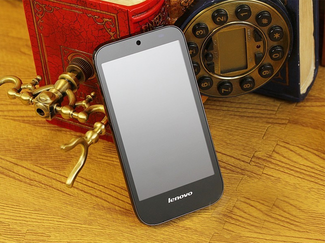 Lenovo Lephone A580 Smart Phone 4.3 Inch IPS Screen Android 4.0 MSM7227A 1.0GHz 3G GPS- Black