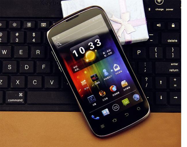 ZTE V970 Grand X Smart Phone 4.3 Inch IPS QHD Screen MTK6577 Dual Core 1G RAM 3G GPS