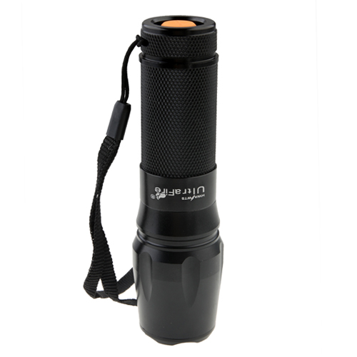 UltraFire 878  High Power XML T6 LED Zoomable Flashlight Torch 1800 Lumens
