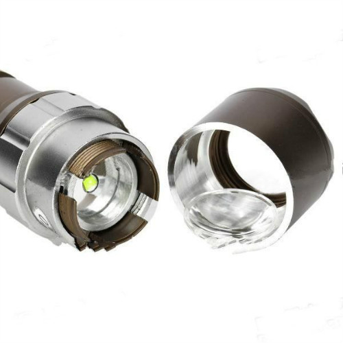 Delicate SacredFire NF-713 Cree XM-L T6 1000LM 3-Mode White Flashlight - Bronze