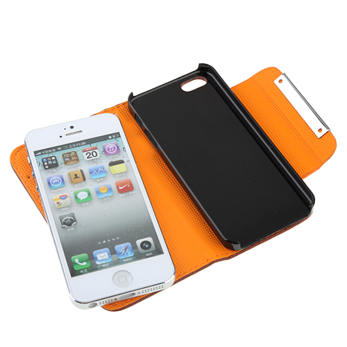 Fashion Protective Leather Case for iPhone 5