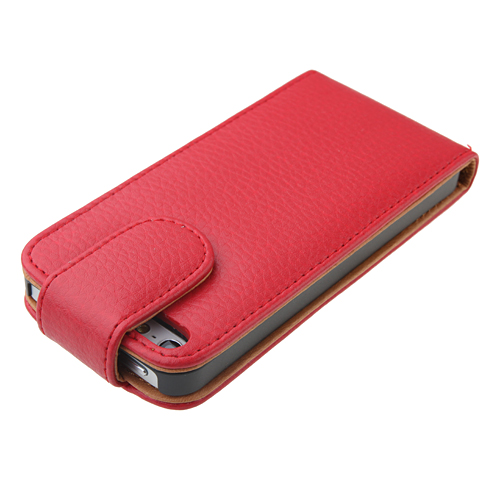 Flip Style Leather Case for iPhone 5