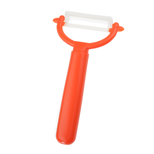 Bestlead High Quality Paring Knife With Round Handle And Peeler Orange