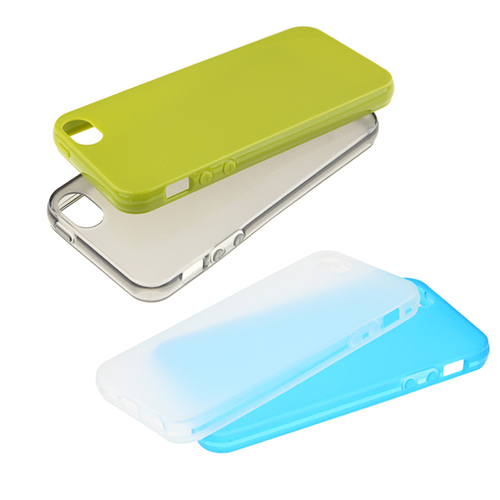 Protective Rubber Soft Back Case Cover for iPhone 5