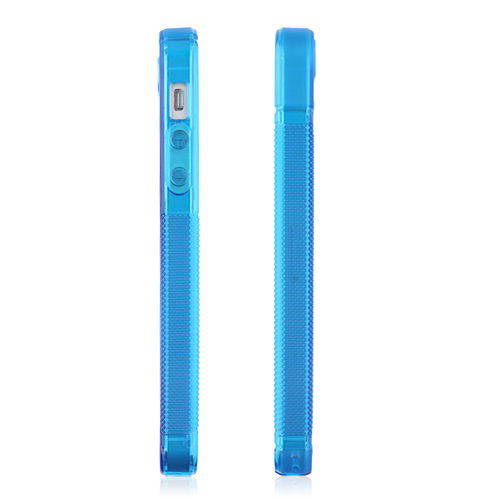 Silicone Rubber Back Case Cover for iPhone 5