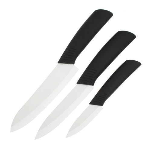 Ultra Sharp Durable 3pcs Ceramic Knives 3