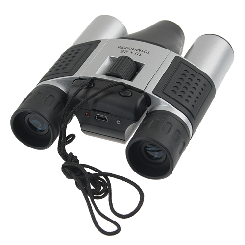 DT08 10×25 Digital Camera Binoculars