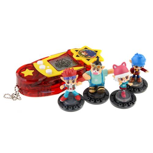 M&D ROCO Game Machine With 4 Pcs Dolls