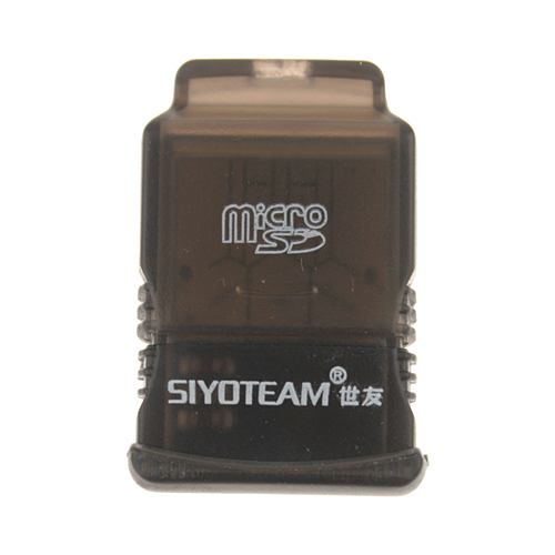 SY-T86 Portable Multifunctional T-Flash Micro SD Mini USB Memory Card Reader