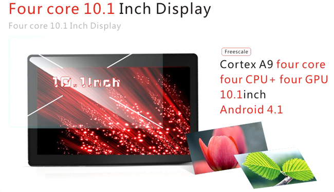Zenithink C94 Tablet PC 10.1 Inch Android 4.0 Quad Core 8GB HDMI White