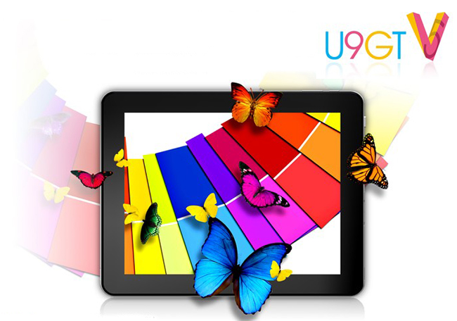 CUBE U9GT V (U9GT5) Tablet PC 9.7 Inch Android 4.1 Retina Screen 16G RK3066 White