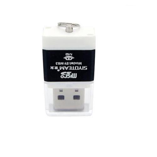 SY-M83 Hi-Speed Card Reader USB Black