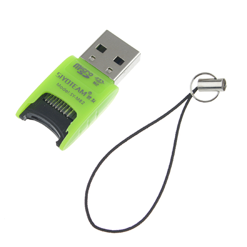 SY-M82 Multifunctional M2 USB 2.0 TF Card Reader Hi-Speed 480MBPS