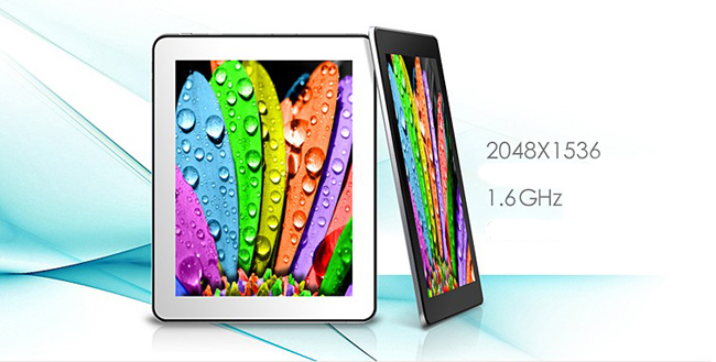 CHUWI V99 Retina Tablet PC 9.7 Inch Android 4.1 Retina Screen 16G RK3066 Silver