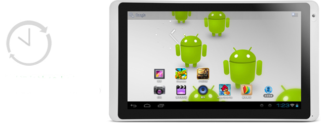 Ramos W27 10.1 Inch Tablet PC 16GB AML8726-MX Cortex A9 Dual Core