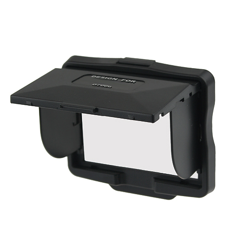 LCD Screen Hood Pop-up Shade Cover Protector for Nikon D7000