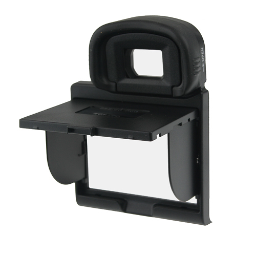 LCD Screen Hood Pop-up Shade Cover Protector for Canon EOS 7D