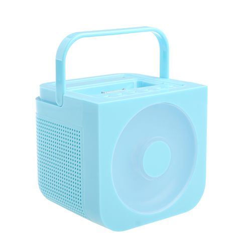 Hand-held Stereo FM Multimedia Speaker for iPhone/iPod