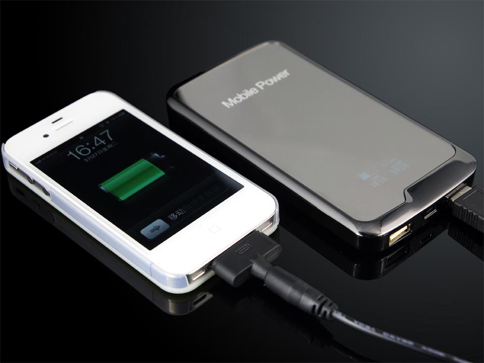 SOLOCAR Universal 6000mAh Dual USB Li-polymer Power Bank with LED Display