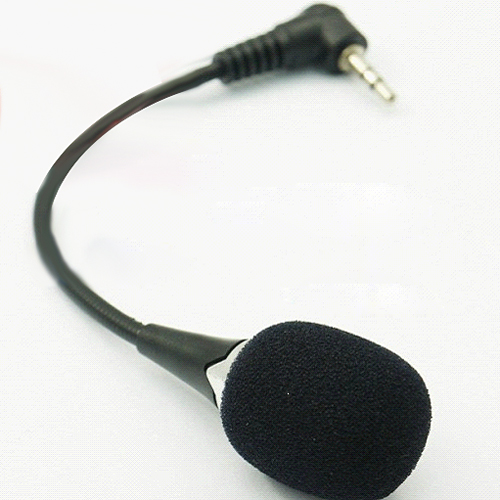 Brand New 3.5mm Mini Microphone Mic with Clip For Macbook Laptop PC Skype