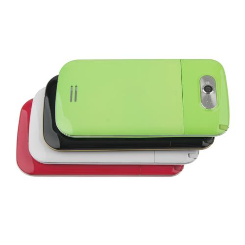 S939 TV Phone Dual Band Dual SIM Card Dual Camera Bluetooth 4.0 Inch Touch Screen- Green