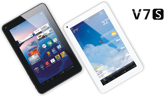 ViPad V7S Tablet PC IPS HD Screen 7 Inch Android 4.0 1GB RAM 8GB 2160P HDMI White