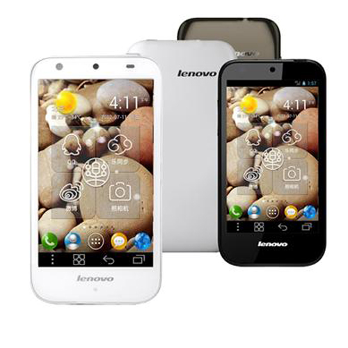 Lenovo LePhone S680 Android 4.0 OS 5.0MP Camera 4.3 Inch IPS Screen 3G GPS - Brown