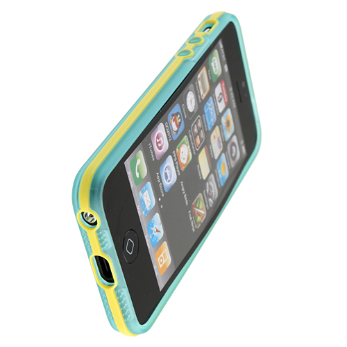 Silica Gel Case Cover for iPhone 5 with Removable Frame