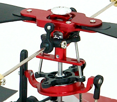 Metal main rotor blades set