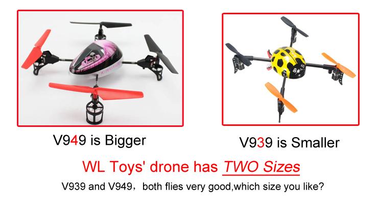 WL V949 Force 4CH Mini UFO RC Quadcopter RTF 2.4GHz