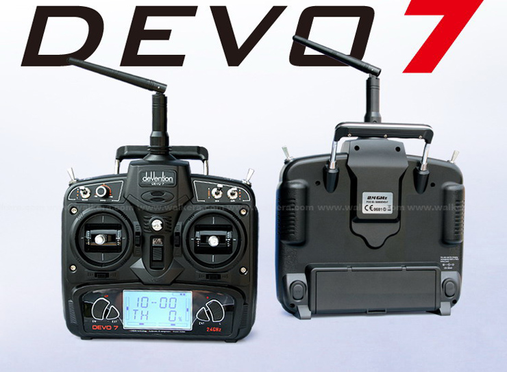 Walkera QR Ladybird with DEVO 7 7 CH RC Quadrocopter 2.4GHz RTF