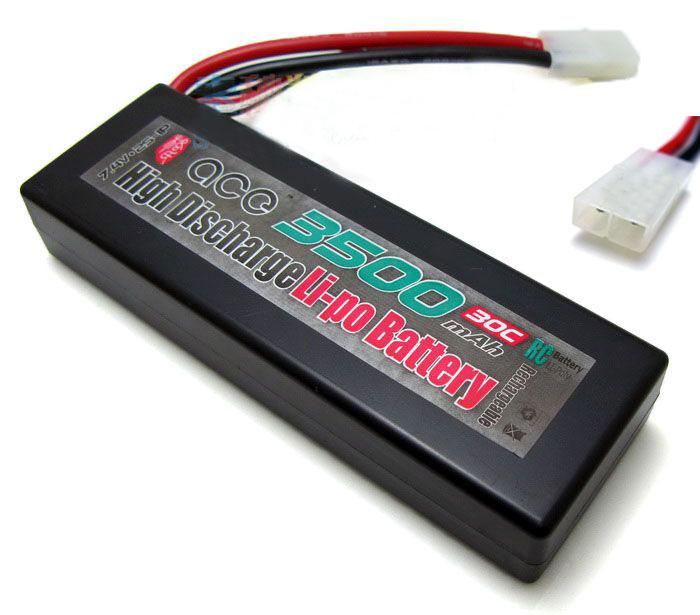 ACE 7.4V 3500mAh 30C LiPo Battery Pack